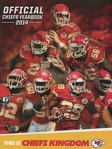 Yearbook 2014  NFL  Football  KANSAS CITY CHIEFS  eBay