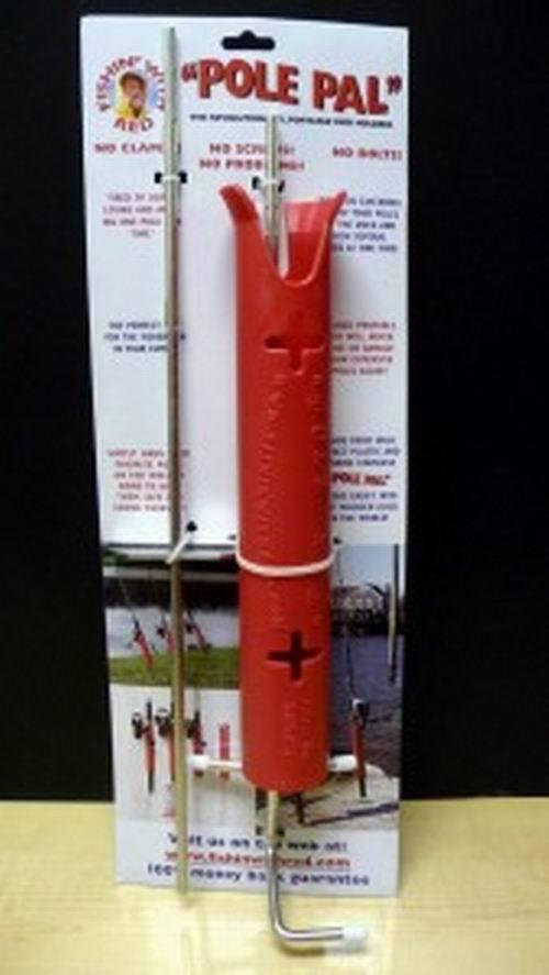 Lote De 6 Piezas-Original Polo Pal Pesca soportes de varilla