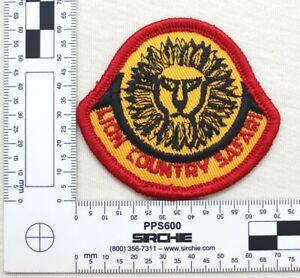 Vintage Lion Country Safari Patch