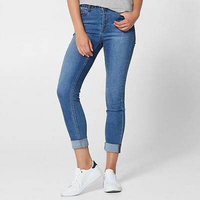 NEW Roll Up Skinny Jeans