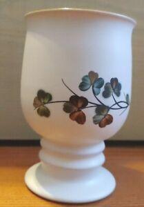 Vintage-Denby-Shamrock-China-Goblet-Made-in-England-Discontinued
