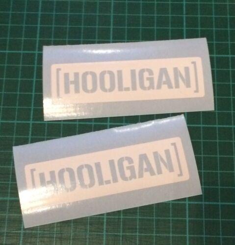 Pegatinas pequeñas hooligan C-Bar calcomanías Reino Unido no Ken Hoonigan bloque Jap Jdm Rally