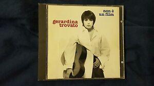 TROVATO-GERARDINA-NON-E-UN-FILM-1994-RTI-CD-TIMBRO-SIAE-ROSSO-A-SECCO