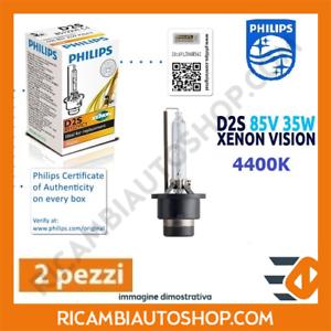2 LAMPADINE XENON D2S PHILIPS DAF CF 75 FAR 75.360 FAS 75.360 KW:265 2001/>2013