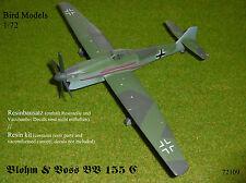 Blohm & Voss BV 155 C  Höhenjäger    1/72 Bird Models Resinbausatz / resin kit