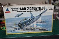 ACCURATE MINIATURES SBD-2 DAUNTLESS MARINE CORPS BOMBER VMSB-241 1/48
