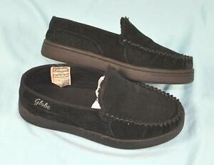Black-Globe-Castro-Slip-On-Shoes-Size-8