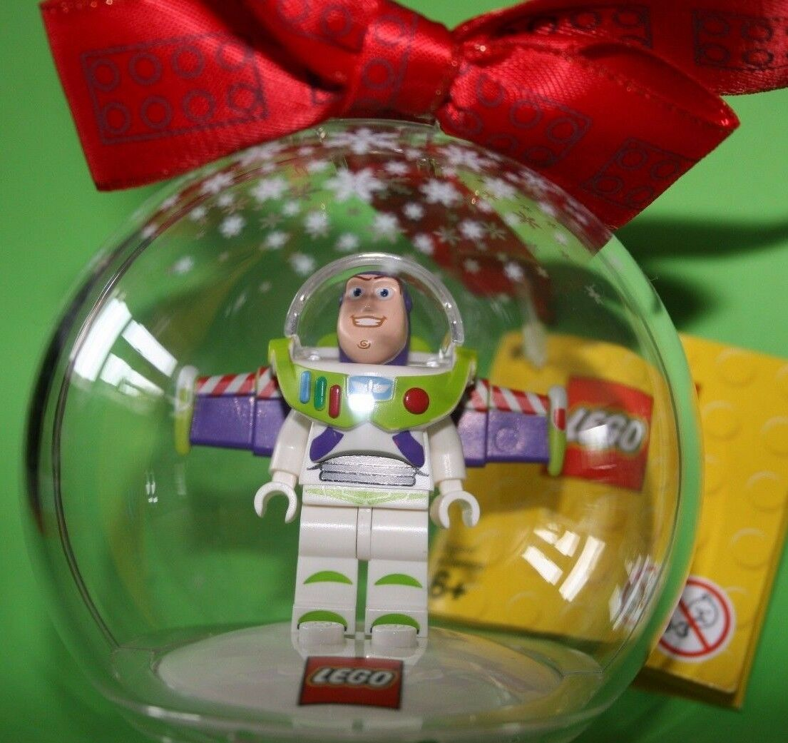 LEGO  BUZZ LIGHTYEAR Christmas Tree Bauble Brand New with Tags Genuine