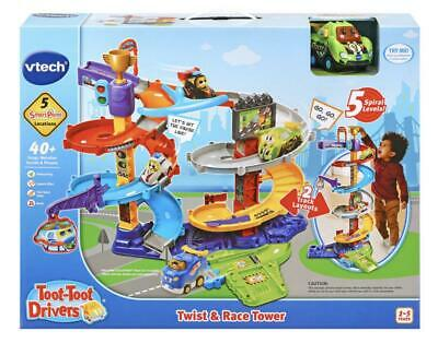 VTech Toot-Toot Drivers Twist /& Race Tower PlaySet SEE VIDEO!!!!