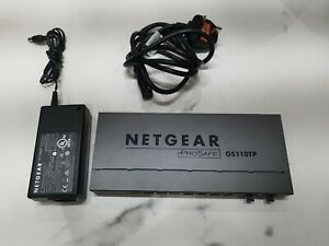 NETGEAR-GS110TP-GS110TP-100EUS-8-Port-100-Base-TX-Fibre-Channel-Switch