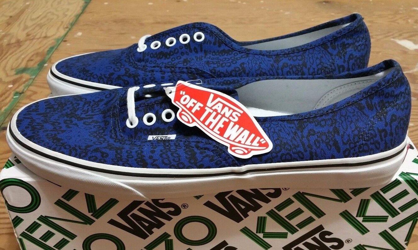 Vans X X X Kenzo Authentic True bluee Moths Size 12 supreme wtaps syndicate sophnet e87693
