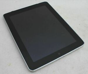 APPLE-A1337-iPad-1st-generacion-9-7-034-Gris-Espacial-32GB-Wi-Fi-3G-Tablet-defectuoso