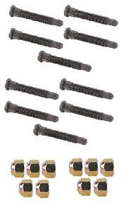10-PC-5-8-034-X-Long-Wheel-Stud-and-Single-Taper-Lug-Nut-Kit-IMCA-USMTS