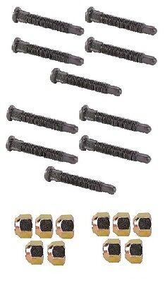 5//8 Extra Long Wheel Stud Lug nut kit Racing Lugnuts Studs IMCA USMTS Coarse