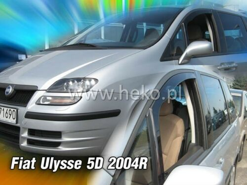 HEKO Windabweiser FIAT ULYSSE 5türig 2003-2007 2teilig 15157