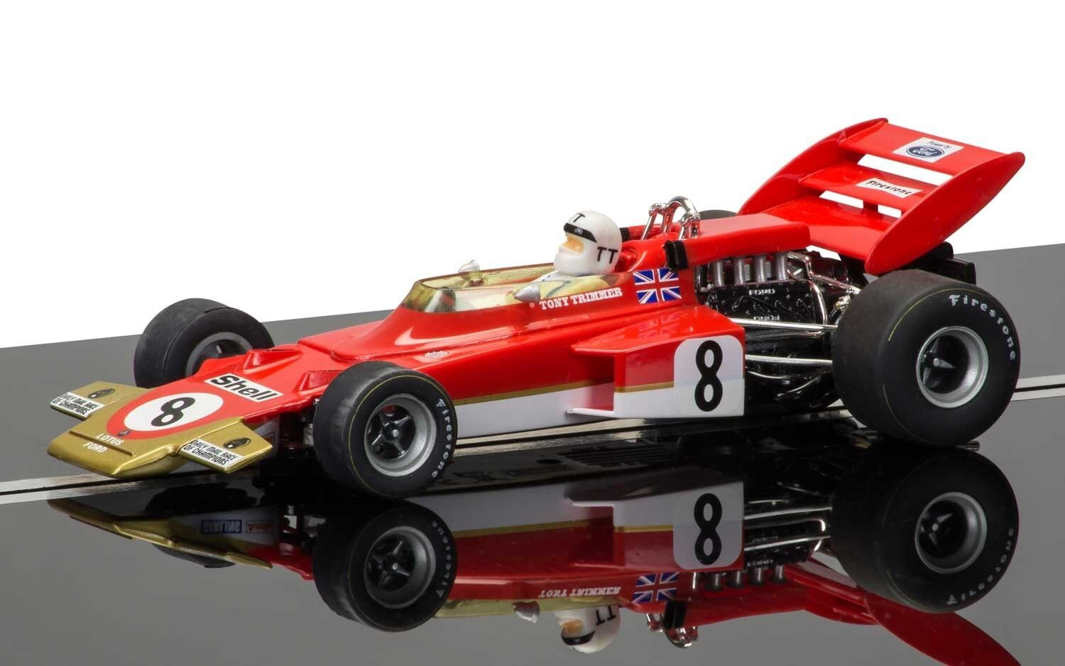 C3657a Scalextric Legends Team Lotus 72, new boxed