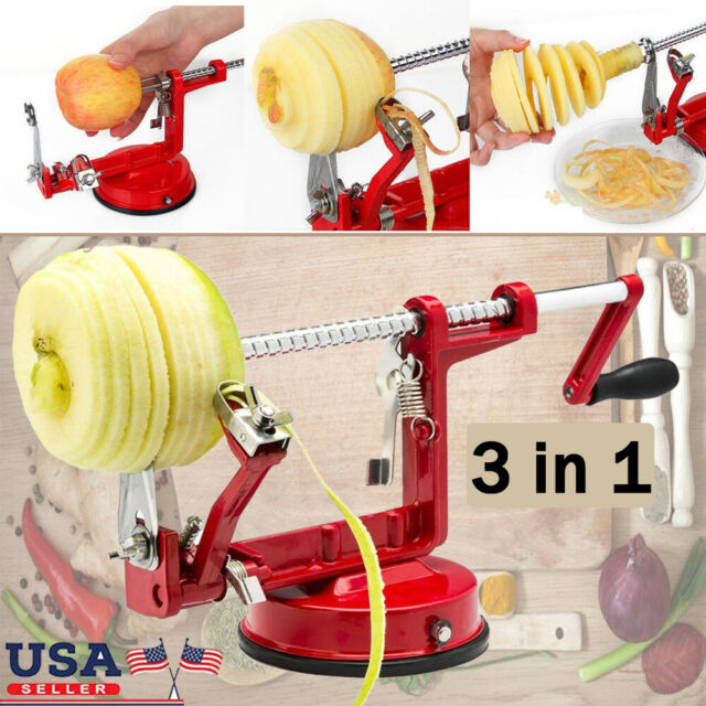 Apple Slinky Machine Peeler Fruit Potato Spiralizer Slicer Corer ...