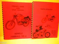 Benelli Fireball 50-montgomery Ward Service & Parts Manuals