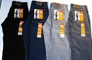 New-Wrangler-Five-Star-Relaxed-Fit-Jeans-All-Men-s-Sizes-Four-Colors-Available