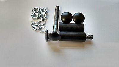 Fits Capri Bumper Bolt Set for MK1// MK2 Escort With Spacers Cortina Etc *