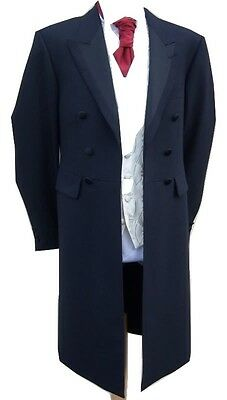 navy period coat mens for wedding