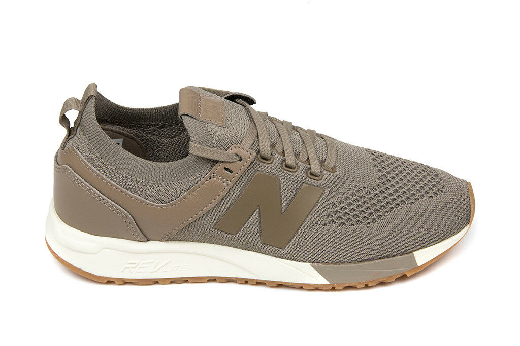 New Balance 247 Deconstructed in Mushroom White MRL247DT Free Ship