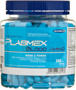 Megabol-PLASSMEX-Blood-Amino-Acids-350-Caps-Essential-Amino-Acids-Strong-BCAA