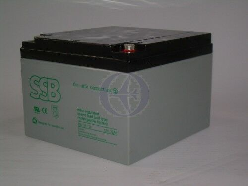 Batería de plomo 12v 26,0ah 051sbv26-12i trs ®