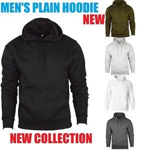 Men-Hoodies-Pullover-Fleece-Hoodie-Sweatshirt-Top-Jumper-Sizes-S-M-L-XL-2XL-New