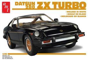 AMT-Datsun-280ZX-Turbo-1-25-scale-plastic-model-car-kit-1043-DAMAGED-BOX