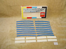 LEGO Sets: Train: Supplemental: 4.5V: 151-1 Curved Track (1966) 100% with BOX #2