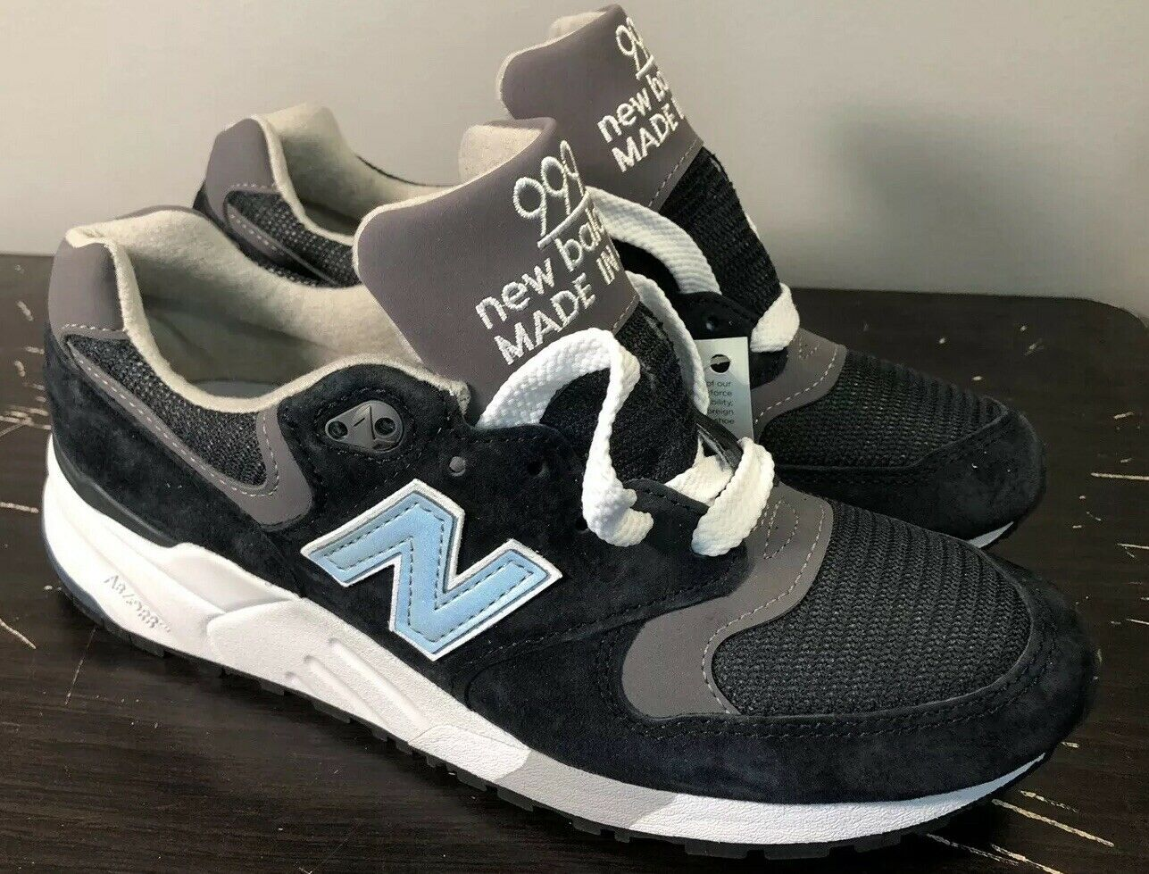 New in Box M999CBL New Balance Men 999 M999CBL sz 5 Made In USA Navy kith