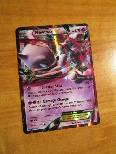 NM Pokemon MEWTWO EX Card BREAKTHROUGH Set 62//162 XY X and Y Ultra Rare