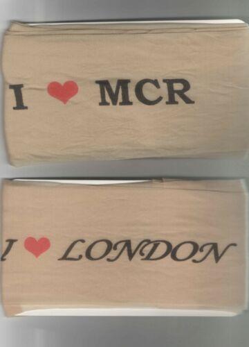 I Love London 3 X TIGHTS Turkish made I Love MCR New Women LADIES TIGHTS