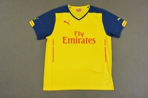 the latest 2bbee 84a33 Details about WITHOUT LOGO ARSENAL GUNNERS Prototype 2014-15 PUMA AWAY KIT  SIZE XL