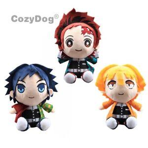 Anime-Demon-Slayer-Kimetsu-no-Yaiba-Plush-Figure-Toy-Cute-Soft-Stuffed-Doll-Gift