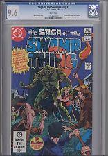 Saga of the Swamp Thing #1 CGC 9.6 1982 DC  Comic