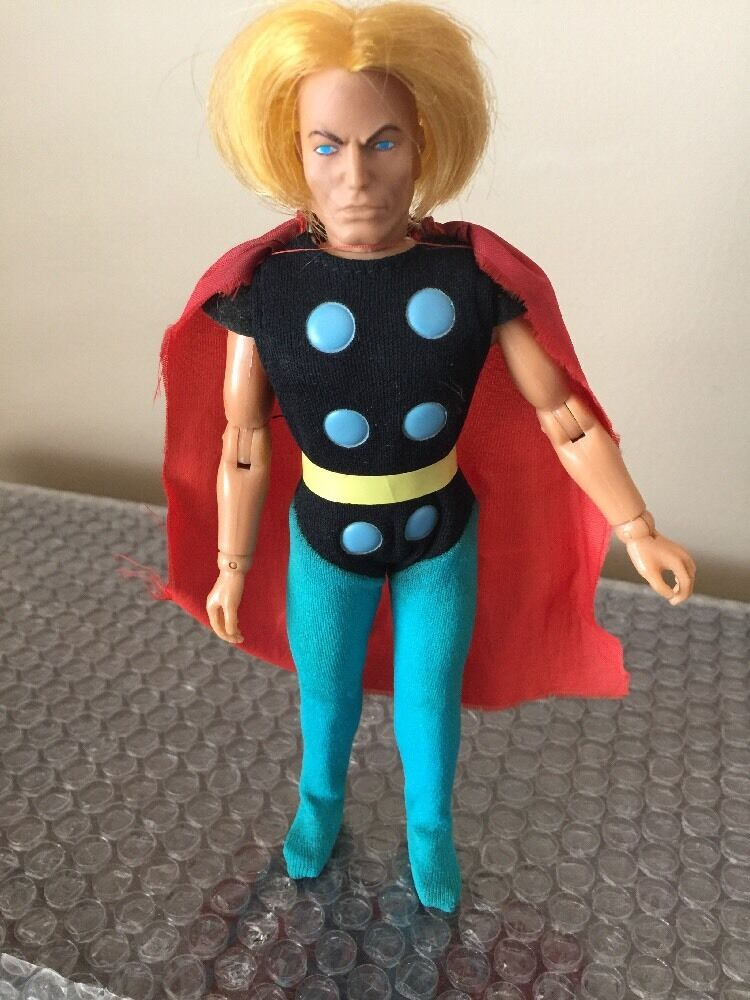 Mego Thor 8  T2  WGSH 100% Original 1974 Body 1975 Head