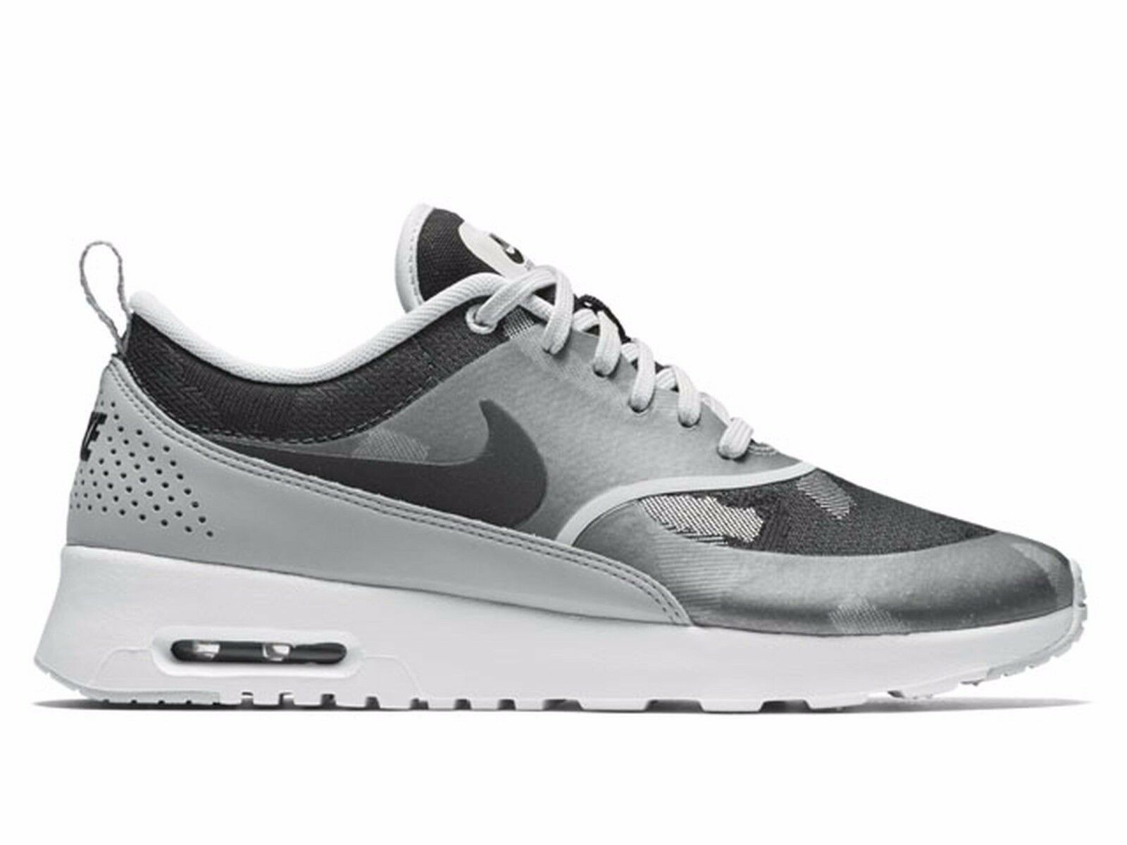 Nike Air Max Thea JCRD Pure Platinum Black Wolf Grey 844955-002 Wmn Sz 11