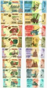 P-104 NEW ND Madagascar 20000 Ariary NEW Design UNC 2017