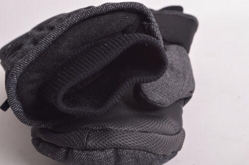 2016 NWT MENS HOWL JED MITTEN $49 black denim quilted denim twill durable nylon