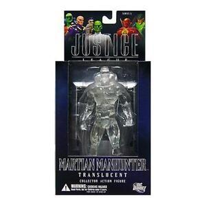 DC-Justice-MARTIAN-MANHUNTER-Variant-Translucient-figure-RARE-batman