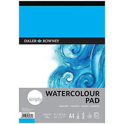 Daler Rowney Simply Watercolour Pad - A4