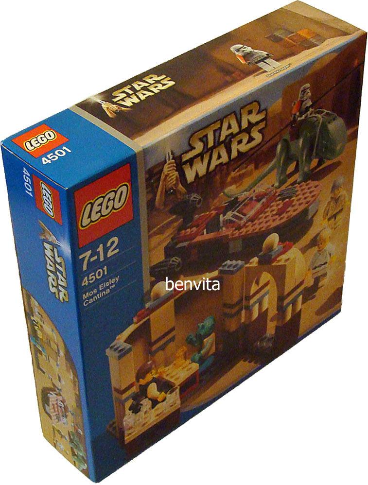 LEGO ® star wars 4501-Mos Eisley casse 7-12 ans 193 pièces-NEUF