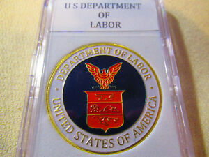 Details about United States Department of Labor (DOL) Challenge Coin