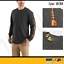 Carhartt K231 Men/'s Long Sleeve T-Shirt Signature Sleeve Graphic Logo Workwear