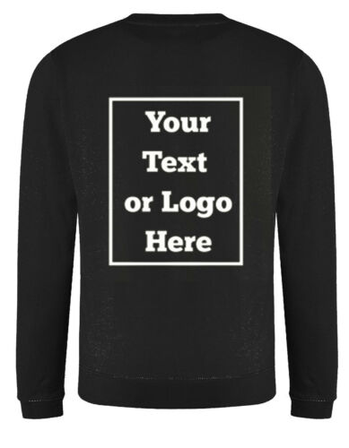 Individuell Bedruckt Text Ihre Bild Personalisiert Stag Workwear Feier Pullover