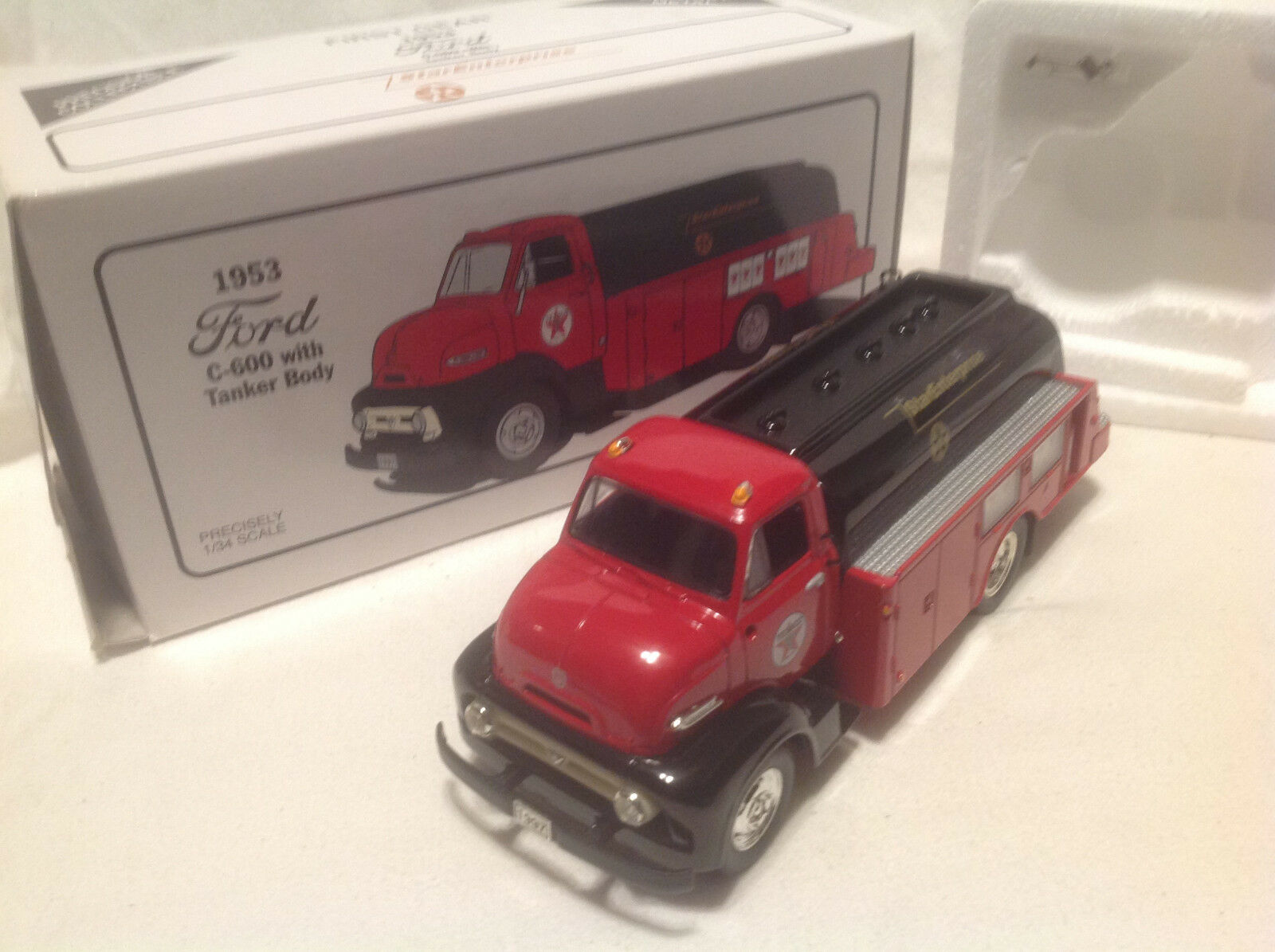 TEXACO STAR ENTERPRISE 1953 FORD COE TANKER FIRST GEAR GEAR GEAR  34 a561f8