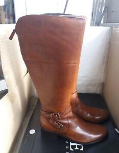 jones the bootmaker women's leather knee high casual boots