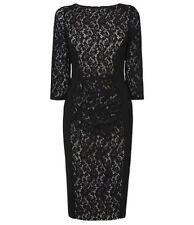 BNWT Phase Eight /8 Black Stephania Lace Dress Size 14